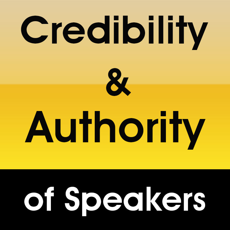 Public Speaking Singapore | Credibility & Authority of speakers